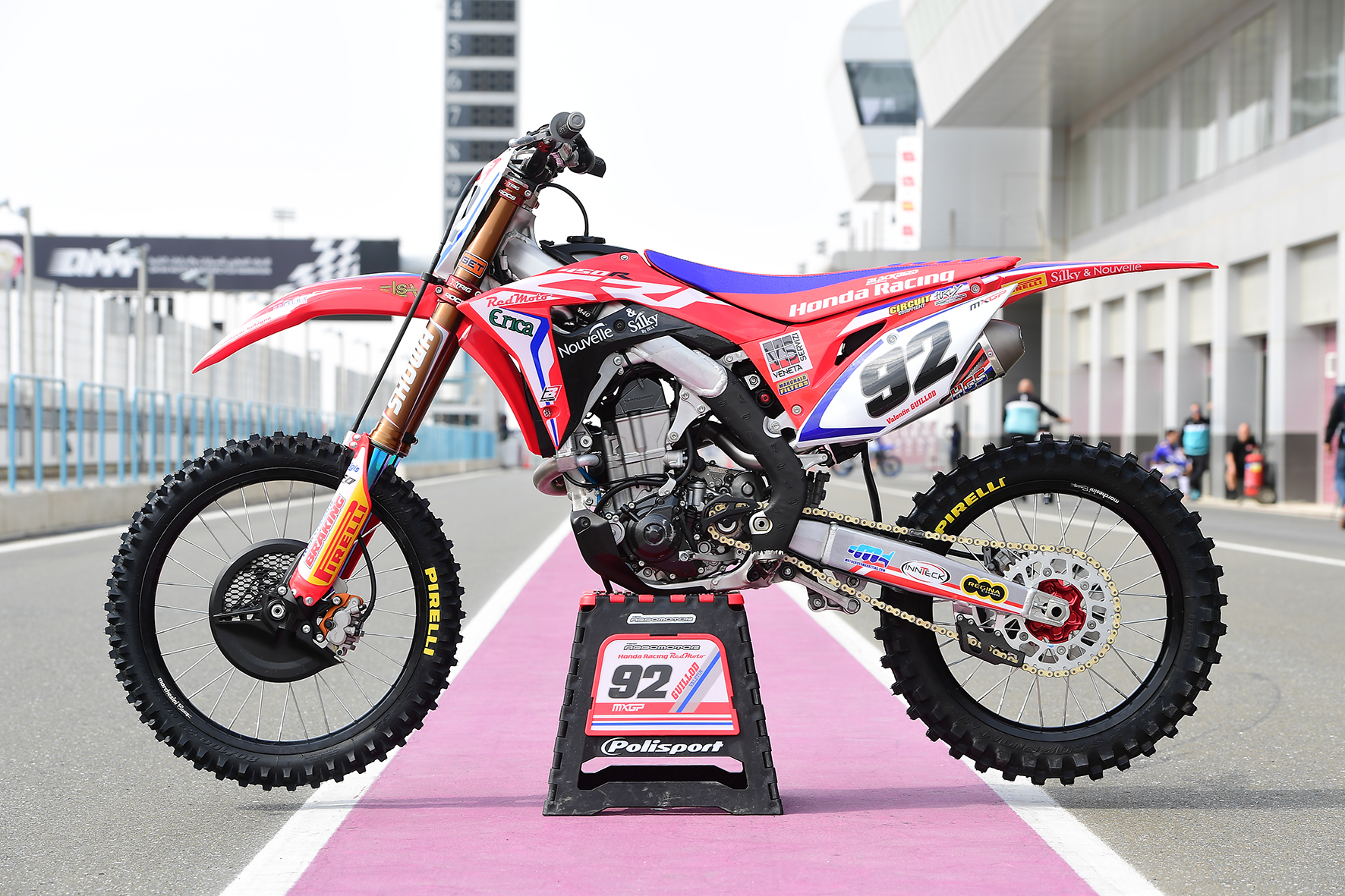 CRF 450 2017 Guillod #92