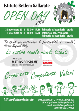 Boisramé e il Team Honda RedMoto Assomotor ospiti all'Open Day al Betlem di Gallarat