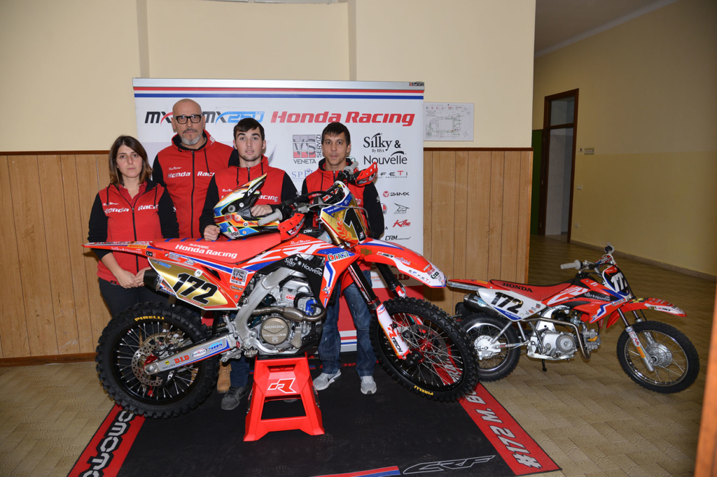 Grande successo per Mathys Boisramè e il team Honda RedMoto Assomotor all'Open Day del Betlem di Gallarate