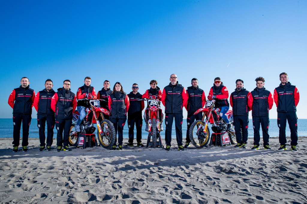 PHOTO SHOOTING TEAM HONDA RACING ASSOMOTOR 2020